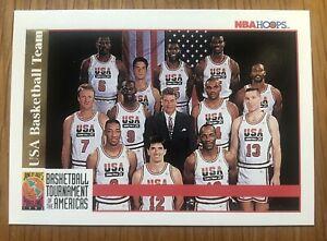 1992 NBA Hoops Usa Basketball Dream Team Card Michael Jordan RARE