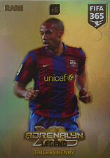 PANINI ADRENALYN XL FIFA 365 2018 Rare LEGEND THIERRY HENRY # 3