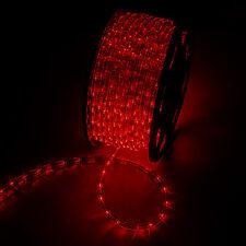 2pcs 150FT 110v COOL WHITE LED Rope Lights Home Lighting Car Truck Indoor @