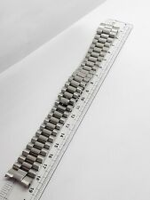 Stainless steel 20mm curved lugs Oyster President Rolex watch band bracelet