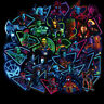 50Pcs IronMan Spiderman Hulk Kids Marvel Avengers Superhero Stickers Stickerbomb