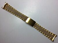20MM YELLOW JUBILEE WATCH BAND STRAP BRACELET FOR ROLEX TUDOR