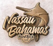 HARD ROCK CAFE NASSAU BAHAMAS DESTINATION NAME SERIES PIN # 98869