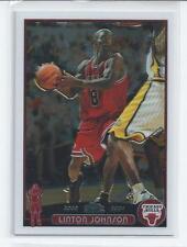 Linton Johnson 2003-04 Topps Chrome Rookie Card #161
