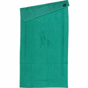 Ralph Lauren Beach Towel with Pony | Green | 100% Cotton | Brand New with Tags