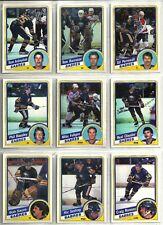 1984-85 O-Pee-Chee Hockey 16-card Buffalo Sabres Team Set  Dave Andreychuk RC