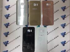 Tapa cubre bateria para Samsung Galaxy S7 Edge Dorada Black Rear Cover Trasera