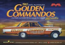 Moebius 1237 1965 Plymouth Satellite Golden Commandos Af/X Awb Altered 1/25 Fs
