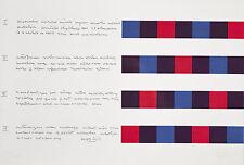 BILL MAX 1978 Original handsignierte und nummerierte Farbserigrafie! TOP !!!