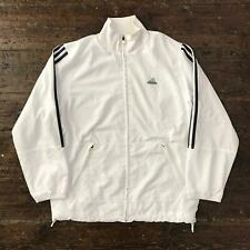 Vintage ADIDAS Womens Track Jacket   Original Sport 90s   Large L UK 16 White