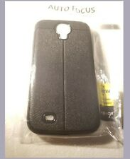 Auto focus COQUE ANTICHOC SILICONE PROTECTION POUR Samsung Galaxy s4 neuf noir.