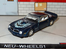 1976 PONTIAC TRANS AM V-8 BIG BLOCK MUSCLE 1/64 DIECAST DIORAMA COLLECTIBLE N