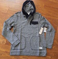 NWT! Ezekiel Men's Gray Berkley pullover Long Sleeve Hoodie, sz M $64.00