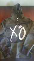 THE WEEKND XO LIP WOODLAND CAMO HOODIE SPRING 2017 (SOLD OUT)