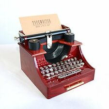 Musical Boxes & Figurines Alytimes Vintage Typewriter Music Box For Room Dcor
