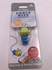 Disney Store Japan: iPhone Cable Bite: Cable Accessory: Green Alien (A4)