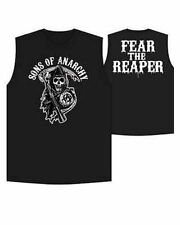 Authentique 2013 ! Sons Of Anarchy Peur The Reaper Samcro Muscle T-Shirt Motard