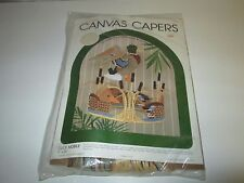 NEW Leisure Arts Canvas Capers Kit Duck Mobile Kit #335