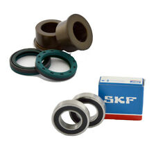 SKF Rear Wheel Bearing & Seal Kit with Spacers For 2001-2008 Suzuki RM125