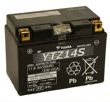 Genuine Yuasa YTZ14S 12V High Performance AGM Motorbike Motorcycle Battery