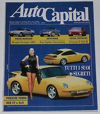AUTOCAPITAL 2/1995 FERRARI F512M – HONDA PRELUDE 2.2 VTEC – CISITALIA 202