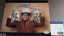 "SCOTT SCHWARTZ Signed ""Dickie"" Kidco 8x10 Photo PSA/DNA COA Certified Autograph"