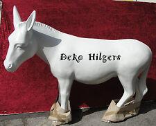 Esel Rohling Figur Tierfigur Gartenfigur Lebensgroß Deko  Garten Zum Bemalen E