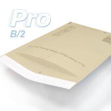 100 Enveloppes à bulles *MARRON* gamme PRO taille B/2 format utile 110x215mm