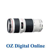 New Canon EF 70-200mm f/4 F4.0 L USM Lens 1 Year Au Wty