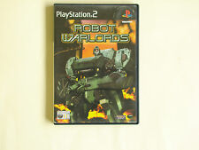Robot Warlords Playstation 2 PS2 game boxed with manual