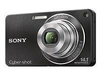 Sony Cyber-shot DSC-W350 14.1MP Digital Camera - Black
