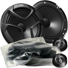 JVC CS-JS600 J Serie - 16cm Kompo Lautsprecher Set für Mercedes SLK R170 Tür v