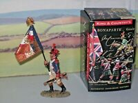 KING AND COUNTRY NA033  FRENCH 3rd LINE INFANTRY Eagle Bearer advancing