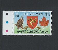 Isle of Man IOM MNH 1978 NAMA N.A.M.A. Golden Jubilee American USA