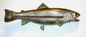 """Rainbow Trout 18"""" Fiberglass Wall Art"""