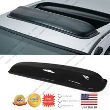 "42"" SMOKE TINT SUNROOF/MOON/SUN ROOF WINDOW VISOR SHADE/VENT WIND/RAIN DEFLECTOR"