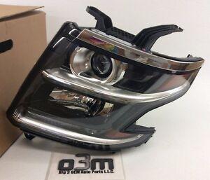 2015-2020 Chevrolet Tahoe Suburban Left Driver High Intensity Headlamp Light OEM