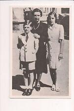 Photo Card Queen Giovanna King Simeon II & Princess Marie Louise of Bulgaria