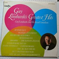 Guy Lombardo and His Royal Canadians Greatest Hits Stereo DL 74812 Decca Records