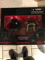 STAR WARS THE BLACK SERIES TITANIUM SERIES HELMETS DEATH TROOPER & COMMANDO 06