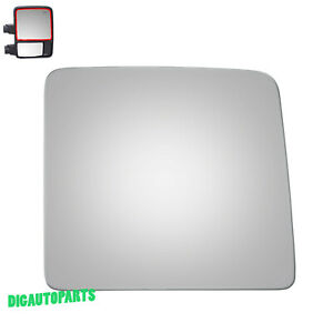 Towing Mirror Glass for 08-16 Ford F250 F350 F450 Super Duty Passenger Side RH