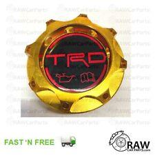 Gold TRD Style Aluminium Oil Filler Cap for Toyota   Glanza Supra Soarer Chaser