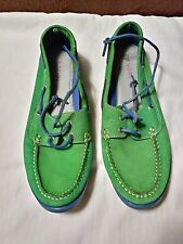 Tesori boat shoes size 10/12 womens, 9.5 mens. Excellent condition, worn once.