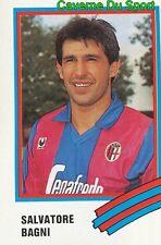 043 SALVATORE BAGNI ITALIA BOLOGNA.FC STICKER CALCIO 89 EUROFLASH
