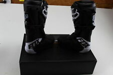 FOX RACING COMP BOOTS BLACK AND WHITE M11 21483-001-11