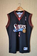 NBA PHILADELPHIA SIXERS 76ERS BASKETBALL SHIRT JERSEY CHAMPION IVERSON #3