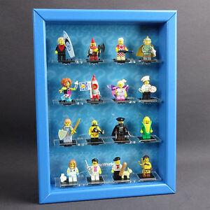 Figucase Sammelvitrine für LEGO® Serie 71018 minifigures 17 Vitrine Setzkasten