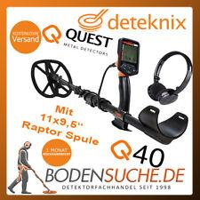 Deteknix Quest Q40 Raptor Set mit großer Spule -> Neu vom Fachhändler