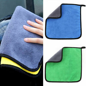 Thickened Car Cleaning Towel Coral Velvet Cloth Double Sided High Density Towel/