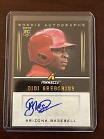 Didi Gregorius 2013 Pinnacle Rookie Autograph Phillies Auto SP